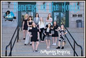 2017-2018 Company Dancers