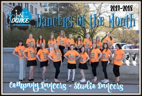 2017-2018 Dancer of the Month Shirts