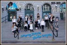 2017-2018 Dancers of the Month